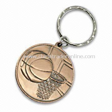 Medal/Memorial Coin, Made of Iron, Brass, and Zinc Alloy, Various Thicknesses Available