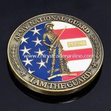 Memorial/Souvenir Coin with 3D/2D Surface, Suitable for Promotional and Collection Purposes