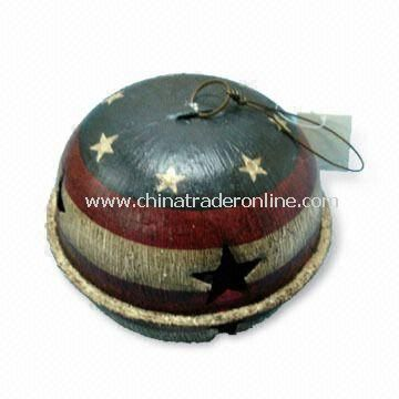 Metal Bell Ornament, for Thanksgiving or American National Day Decoration