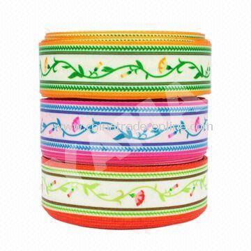 Mothers Ribbons with Printing, Made of Polyester, Suitable for Mothers Day Decorations
