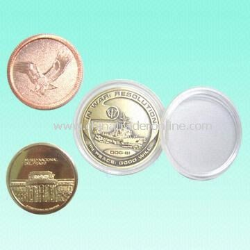Quality Memorial Coins for Promotion or Collection