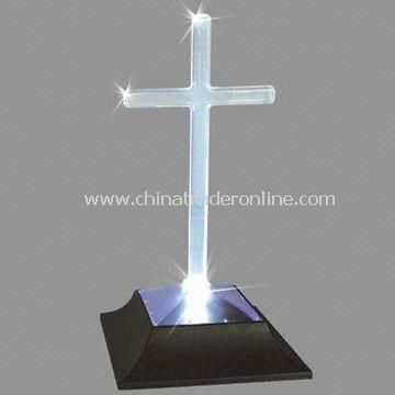 Solar LED Memorial Lamp for Church and Holiday, Energy Saving and Environment Friendly