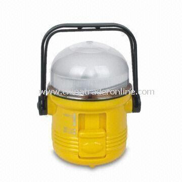 Solar-powered ABS Camping Lantern with 4V, 70mA Solar Panel from China