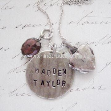 Special Mothers Day Gift Round Pendant with Locket Necklace