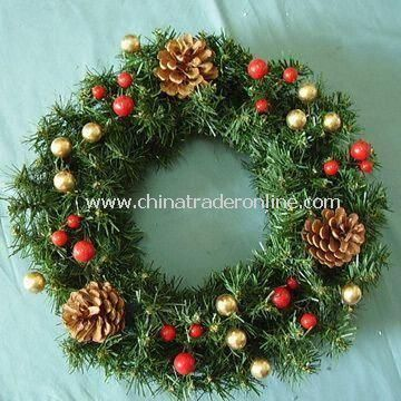 Wreath, Suitable for Home/Holiday/Garland Decorations, Customized Specifications are Welcome