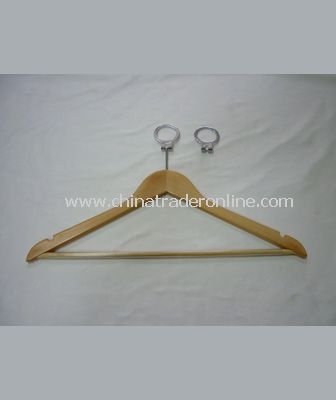 MALE CLOTH HANGER WITH ANTI THEFT HOOK