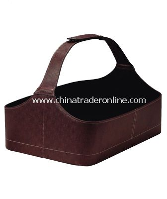 SYNTHETIC LEATHER  SHOE BASKET