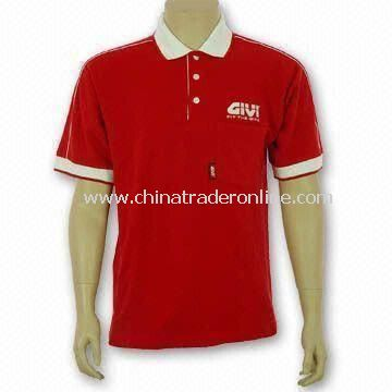 Golf Apparel, Made of 100% Cotton, Customized Logos are Welcome