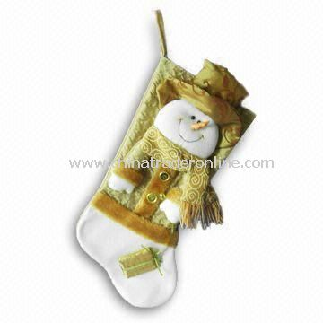 20-inch Coffee Colored Christmas Stockings