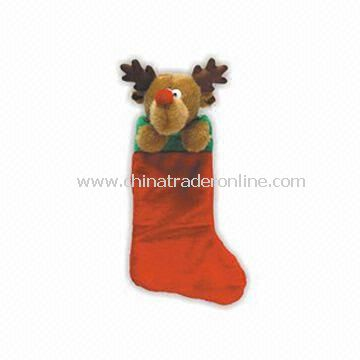 45cm Christmas Stocking, Available in Red