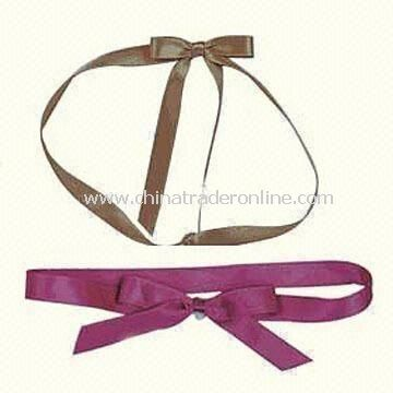 Assorted Ribbon Bows, Made of Various Materials, Customized Sizes are Accepted