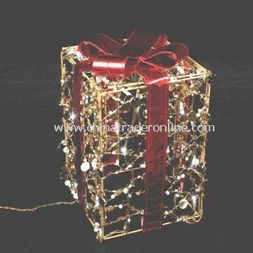 Christmas Light, Wrapped by Strings of Sequins, with 4.8W Power from China