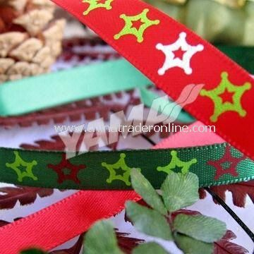 Christmas Ribbon Decoration, Perfect for Holiday Garment Accessories