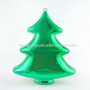 Christmas Tree-shaped Candy Container, Measures 130 x 110 x 55mm