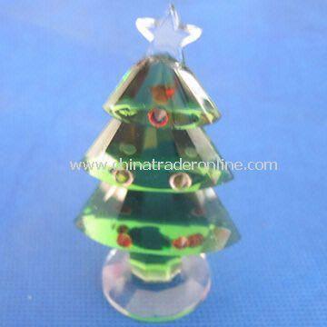 Crystal figurine for Christmas and Gifts, Christmas Tree Shaped