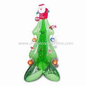 Inflatable Christmas Tree, Customized Sizes And Logos Are Welcome, Made Of  PVC Material