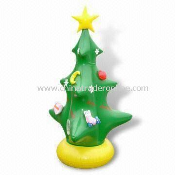 Inflatable Christmas Tree, Customized Sizes and Logos are Welcome