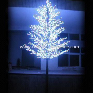 LED Christmas Tree Lighting, with 5,800pcs LED, R, G, B and Flashing Colors