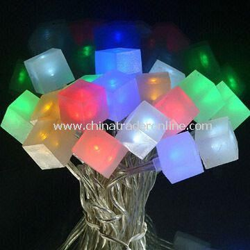 led multicolored christmas lights string for indoor used with 72m of length from china