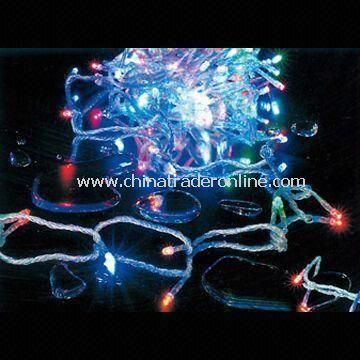 LED String Lights with 5 to 20m Length, LED Christmas, Icicle and String Decoration Lights Available