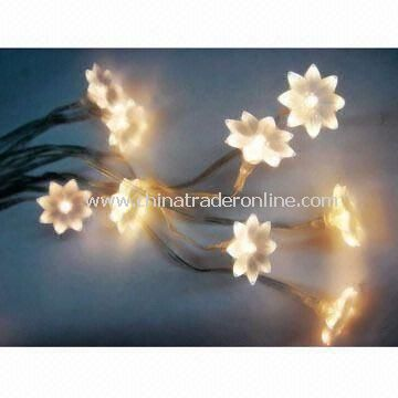 LED Waterproof String/Decoration Light with 110 or 220V Voltage, Suitable for Christmas/Festival Use