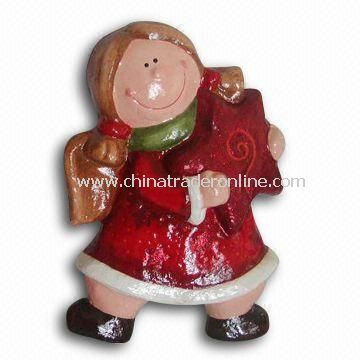 Paper Mache Angel Christmas Decoration, Customized Shapes are Welcome