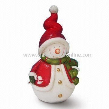 Paper Mache Snowman Christmas Decoration, Customized Shapes are Welcome