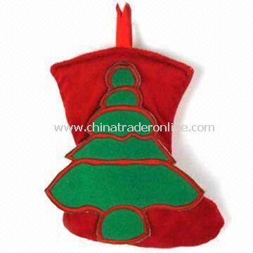 Plush Christmas Stocking, Available in Various Designs, Measures 25cm, EN 71-certified
