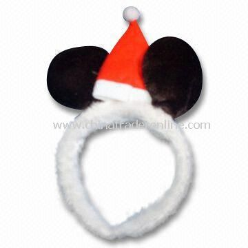 Christmas Headband, Made of Non-woven, Available in White
