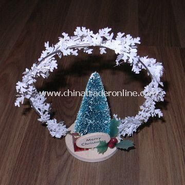 Christmas Tree Craft, Customized Designs are Accepted, Suitable of Decorations