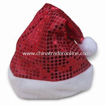 Christmas Santa Hat , Available in Various Sizes, Customized Designs are Accepted