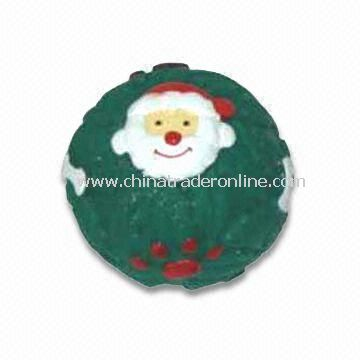 Pet Vinyl Toys with Squeaker, Suitable for Christmas Decorations