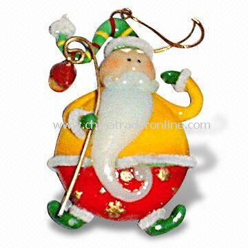 Polyresin Xmas Ornament Decoration, Available in Customized Designs and Sizes