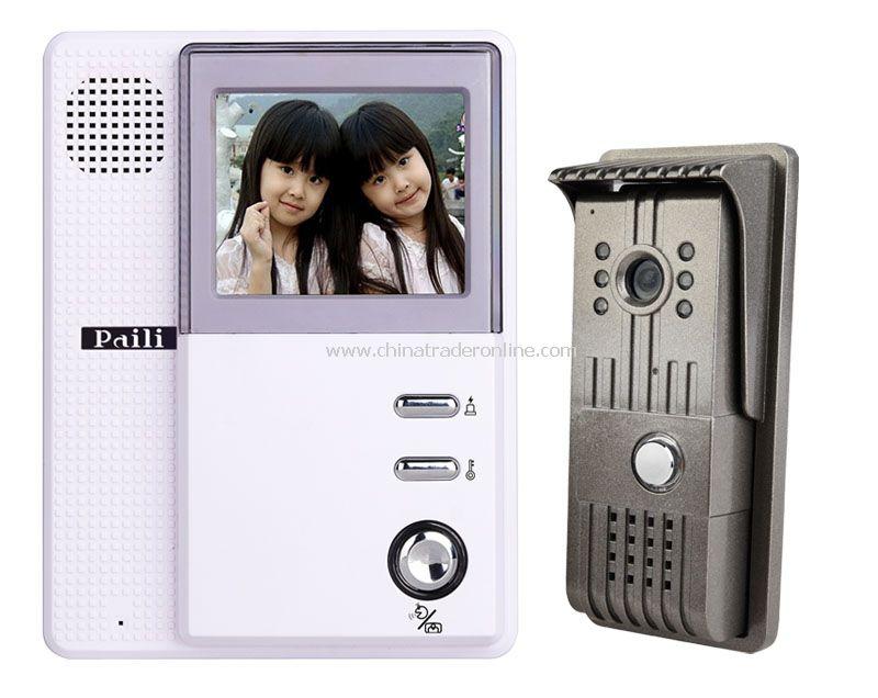 3.5inch B/W Video Door Phone kit