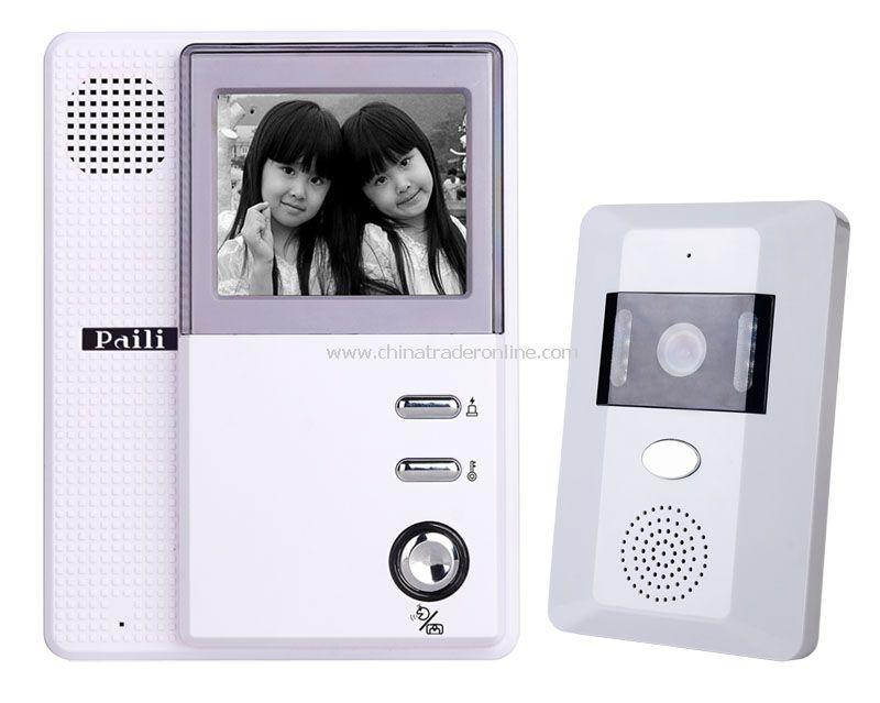 4inch B/W Video Door Phone kit