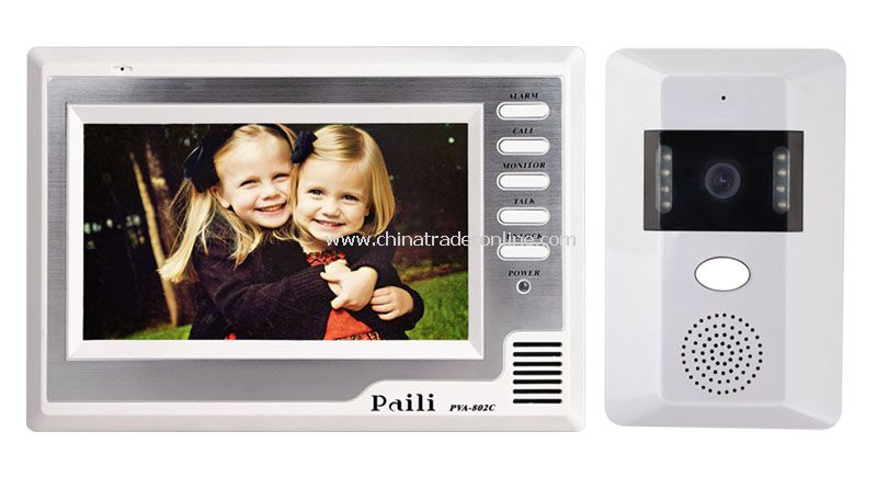 7inch Color Video Door Phone kit