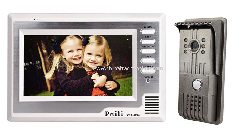 7inch Color Video Door Phone kit
