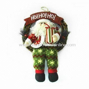 Christmas Ornament, Made of Silicone Rubber, with Logo and Accessories