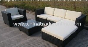 best-sell PE Rattan&Aluminum sofa furniture