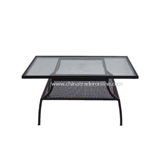 Louis Steel Coffee Table 100x68.5cm