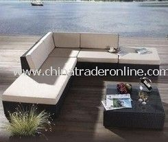 Outdoor PE rattan sofa furniture
