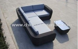 Patio sofa furniture