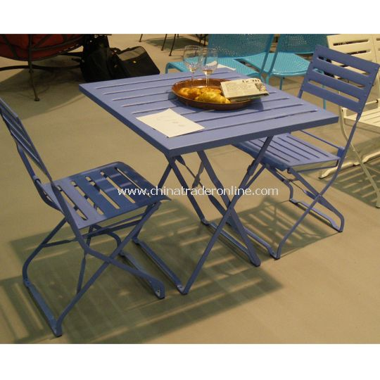 Wrought Iron Foldable table