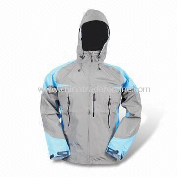 228T Taslon Breathable Skiwear with Polyester Lining and Chest Pocket