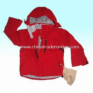 Childrens Ski Jacket with 100% Polyamide Taslan Shell