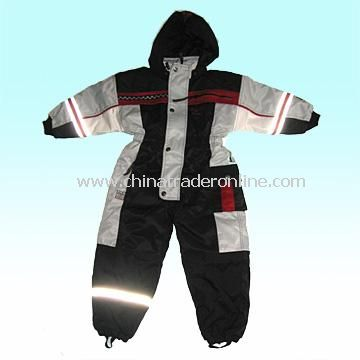 Childrens Ski Suit/Coverall with 120g Body Padding