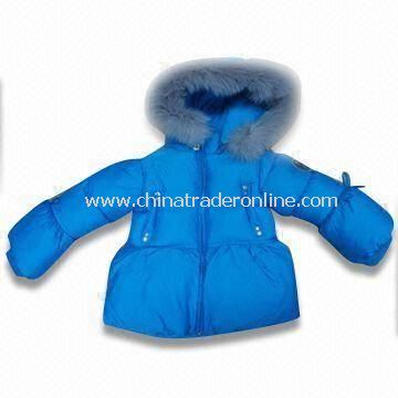Girls Skiwear with 100% Polyester Lining, Available in Blue