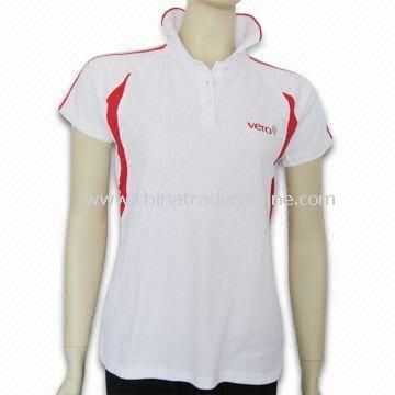 Golf Apparel with Contrast Color and Beautiful Embroidery