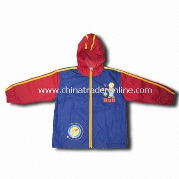 Golf Wear Coat, Made of 100% Polyester, Customized Colors are Accepted