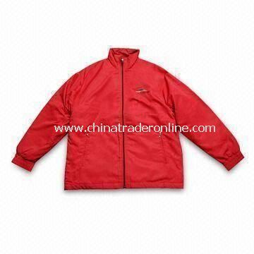 Golf Wind Rain Coat with Resin Zipper, Various Colors and Designs Available